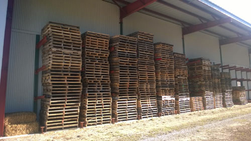 Patchwood Plaza Hillman, MI - Used Pallets